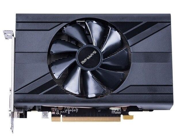 Used.Sapphire RX470D 4G D5  DDR5  PCI Express 3.0 computer ITX  graphics card HDMI DP DVI