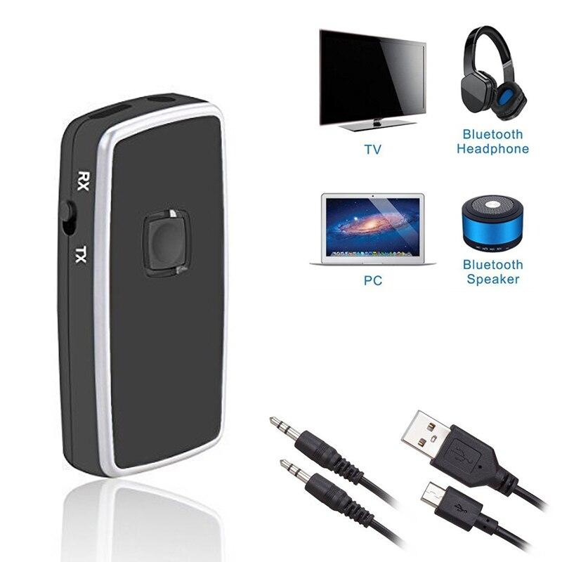 Xvgjdz Bluetooth Receptor 3.5mm A2DP Streaming de Casa Del Coche AUX Altavoz Aur