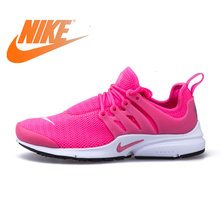 48dfbffb3644 Original Authentic Nike Mesh Surface Women s Air Presto Running Shoes Sneakers  Female Ladies Outdoor Sports 2018