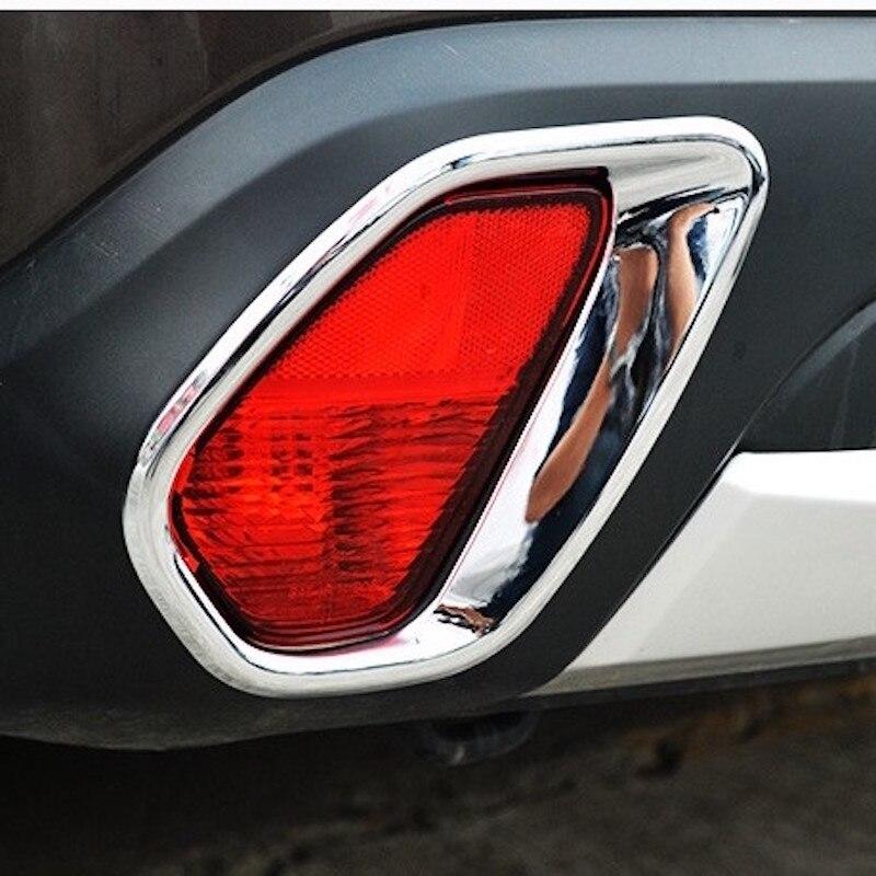 Carbon fiber Rear Reading Light Cover Trim For Mitsubishi Outlander 2016-2018