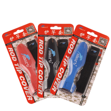 Smart Red/Black/Blue Lure Fishing Rod Covers Kit Rod Sleeves Pole Glove Jacket Protector Pesca Carp Fishing Accessories