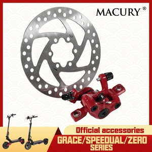 Disc Brake Caliper Lever Line Mount for Electric Scooter Speedual Mini Plus Grace Zero 8 9 10 Zero 8X 10X 11X Spare Parts Macury(China)
