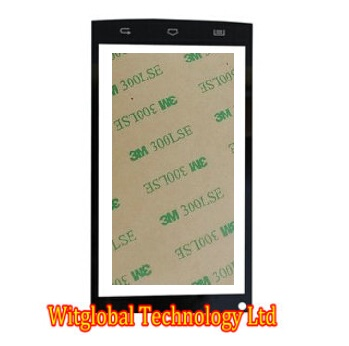 Free 3M Tape + New touch Screen Sensor For 5 Qumo Quest 510 Touch Panel Glass Digitizer Replacement Free Shipping аксессуар защитная пленка irbis tz701 luxcase суперпрозрачная 53041