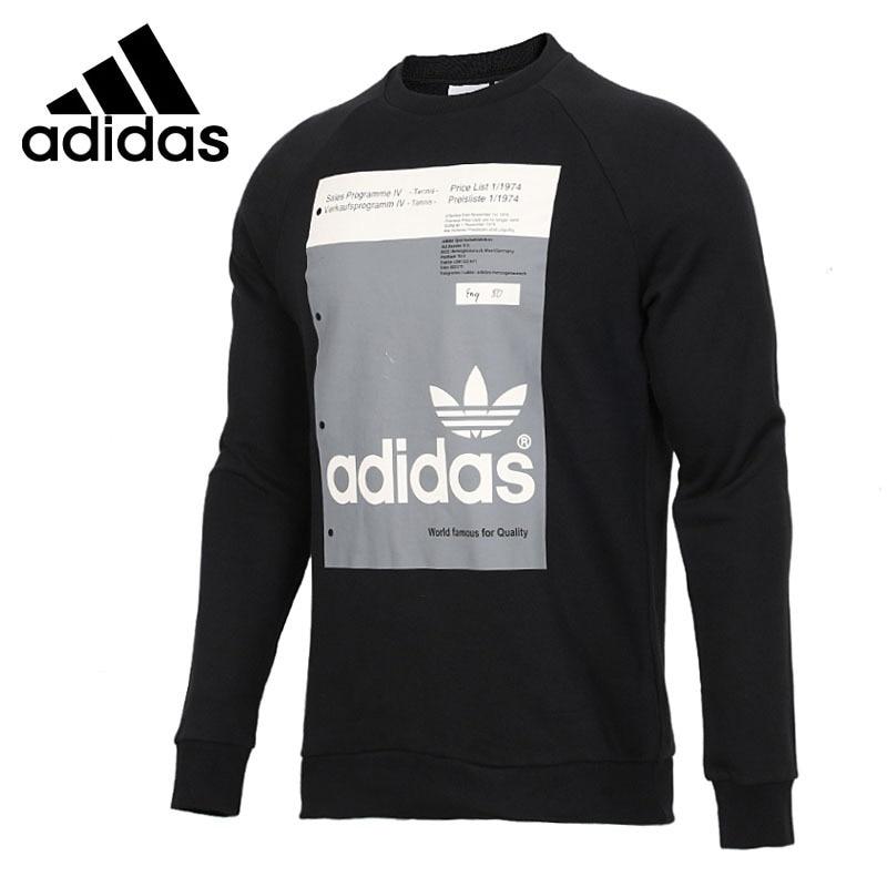 Original New Arrival 2018 Adidas Originals PANTONE CREW Men's Pullover Jerseys Sportswear цена