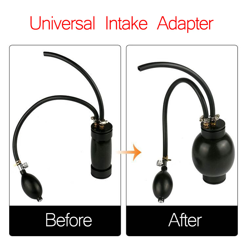 Car Accessories Quick Intake Universal Adaptor Intake Bladder for Smoke Diagnostic Automotive Leak Detector Machine SDT206