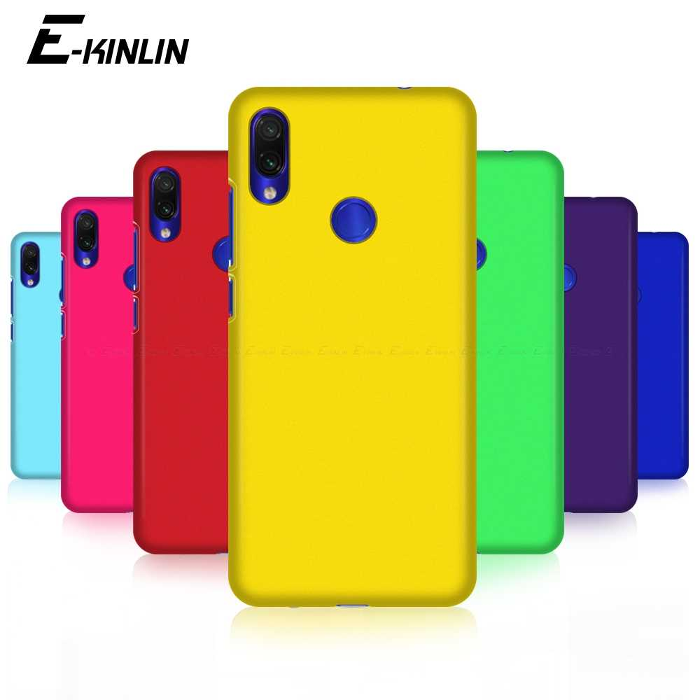 Hard Matte Phone Case Ultrathin Slim Plastic Back Cover untuk Xiaomi Redmi Note 9 9S 8T 8 7 6 5 5A Prime Plus Pro Max 8A 7A 6A