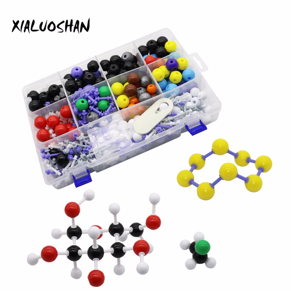 Organic Chemistry Model Kit Molecular Biology Diameter 23mm Molecules Structure Models Set For Teacher Student