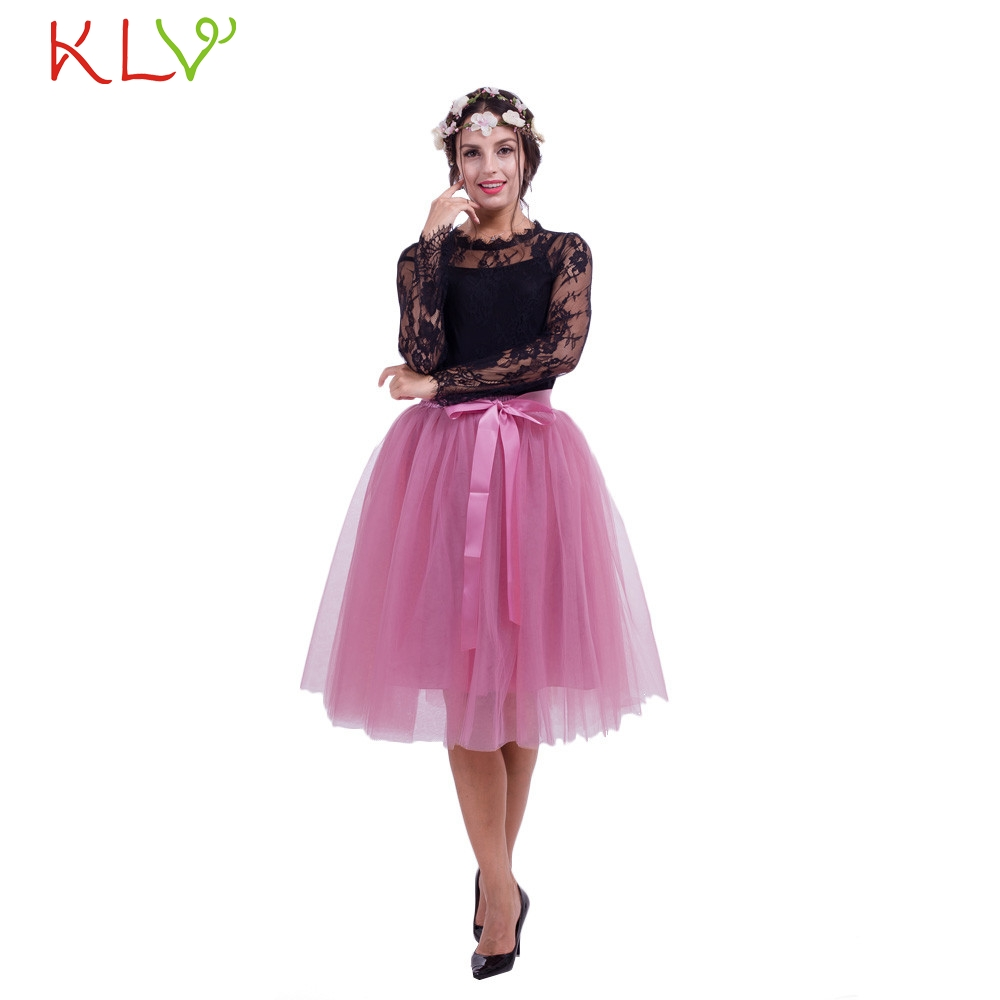 Adult Long and Fluffy Tulle Skirt