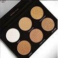 Nuevo llegado Último Resplandor Kit 6 Colores Paleta de Sombra de ojos Rotulador Destacando Bronceador Paleta Nuevo Maquillaje Cosmestics Dropship
