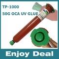 Tp-1000 УФ Клей LOCA Жидкость Оптический Ясно Клей для iPhone Samsung HTC Стекла Ремонт