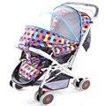 Carrinho de bebê carrinho de bebê multifuncional portátil no carro fácil dobrável carrinho de mão dupla finalidade