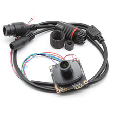 цены HD 1080P CCTV 2MP Network IP Camera Module IPC board XMeye ONVIF P2P H.265+ weatherproof IP cable lens