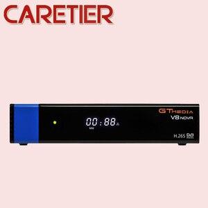 Image 5 - 2019 GTmedia V8 نوفا الأزرق DVB S2 HD استقبال الأقمار الصناعية دعم H.265 TV Ccam Newcamd powervu Biss بنيت واي فاي فك التشفير جديد