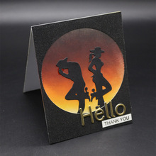 gentleman Metal Cutting Dies for Scrapbooking Photo Album Embossing DIY Paper Cards Making Decorative Stencil Craft