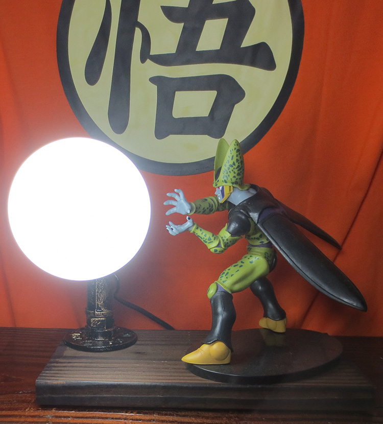 KNL HOBBY Dragon Ball LED desk lamp explosion models complete rebirth led Shahrukh Eye Spot shipping creative birthday gift knl hobby j deere 720 farm tractor alloy car models us ertl 1 16 special clearance