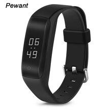 Новый pewant Smart Band Bluetooth подключен браслет с сердечного ритма монитор OLED Дисплей смарт-браслет для Meizu Sony телефон