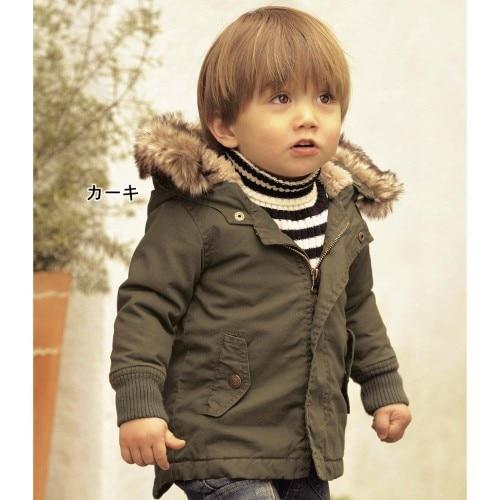 SW050 Free shipping hot sale winter fashion boy hoody coat kids thick Cotton jacket wear winter kids clothes boys coat retail
