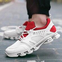 Men and Women Air Mesh Running Shoes Outdoor Light Sneakers Star Camping Tactics Cushioning Buffer Walking Jogging Shoes Zapatos