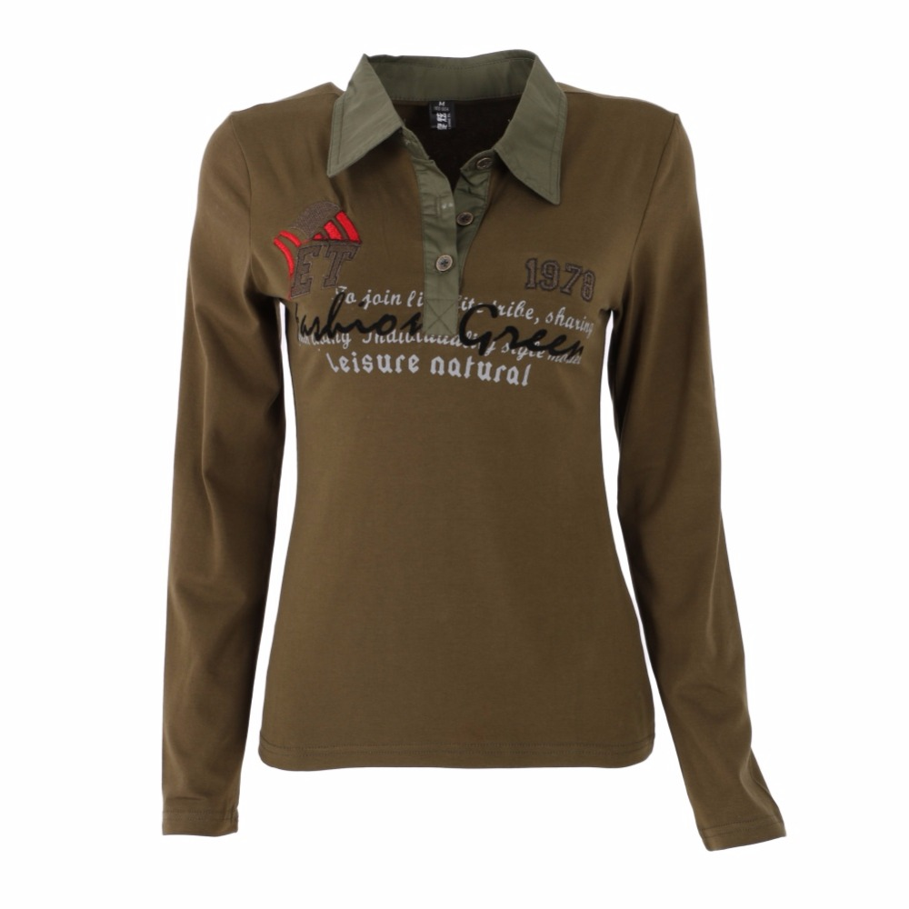 Online buy wholesale polo shirt sale from china polo shirt for Women s long sleeve polo shirts sale
