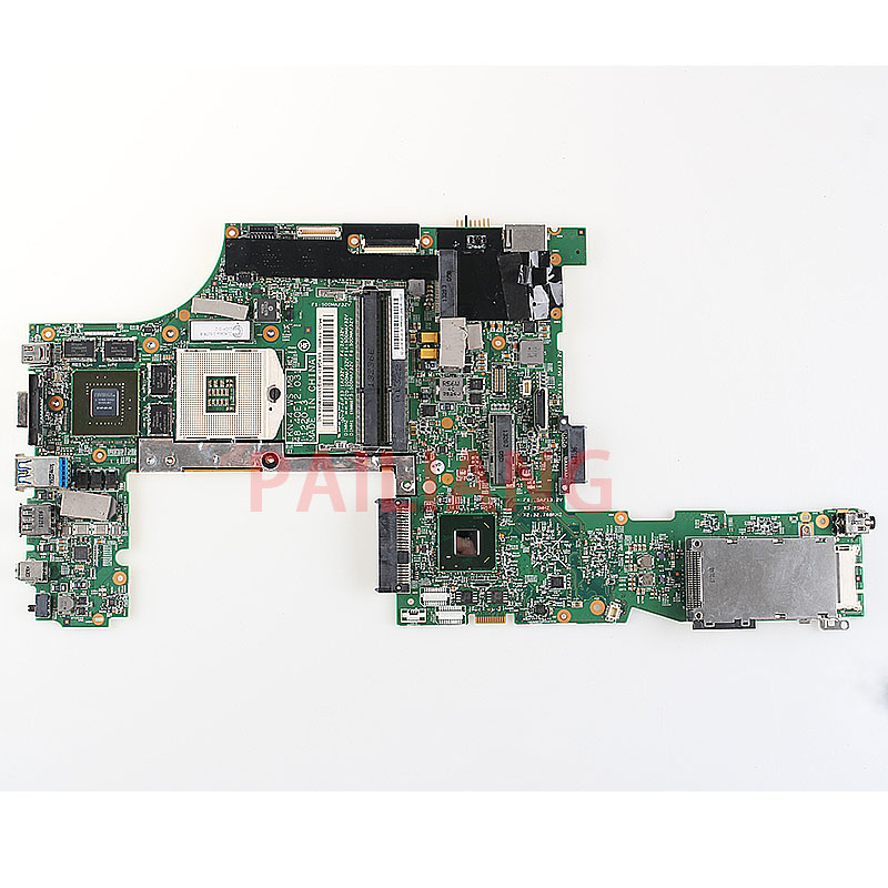PAILIANG Laptop motherboard for Lenovo Thinkpad W530 Mainboard K1000M 04X1527 48.4QE12.031 11220 3 full tesed DDR3