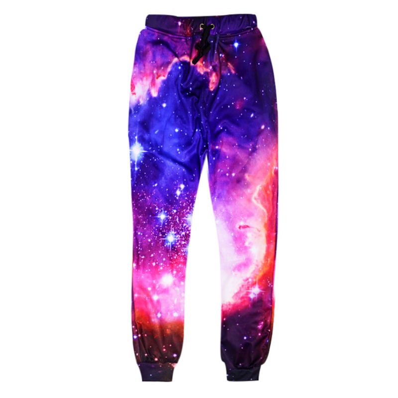 Fashion Galaxy Joggers Pants Men 3d Printing Colorful Casual Loose Harem Sweatpants Funny Unisex Trousers Plus Size Clothing