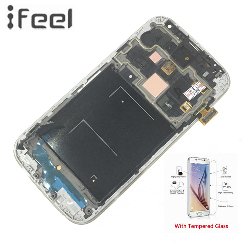 IFEEL For Samsung Galaxy S4 i9500 i9505 100% Tested Working Super AMOLED LCD Display Touch Screen Digitizer With Frame IFEEL For Samsung Galaxy S4 i9500 i9505 100% Tested Working Super AMOLED LCD Display Touch Screen Digitizer With Frame