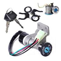 DWCX 4 Pin Ignition Key Switch Lock Toolbox Cushion Lock For Chinese GY6 50cc 125cc 150cc