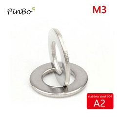 20/50/100pcs M3-M20 stainless steel 304 flat washers for screw spacers fastener din125