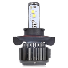Paired K7 H13 80W 4000LM Integrated LED Vehicle Headlight Heat Dissipation Automobile Vibration Resistance Easy Installation
