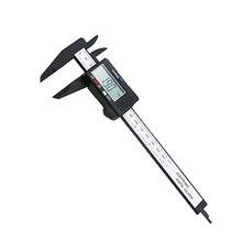Promo offer Arrival 150mm 6 inch LCD Digital Electronic Carbon Fiber Vernier Caliper Gauge Micrometer Measuring Tool