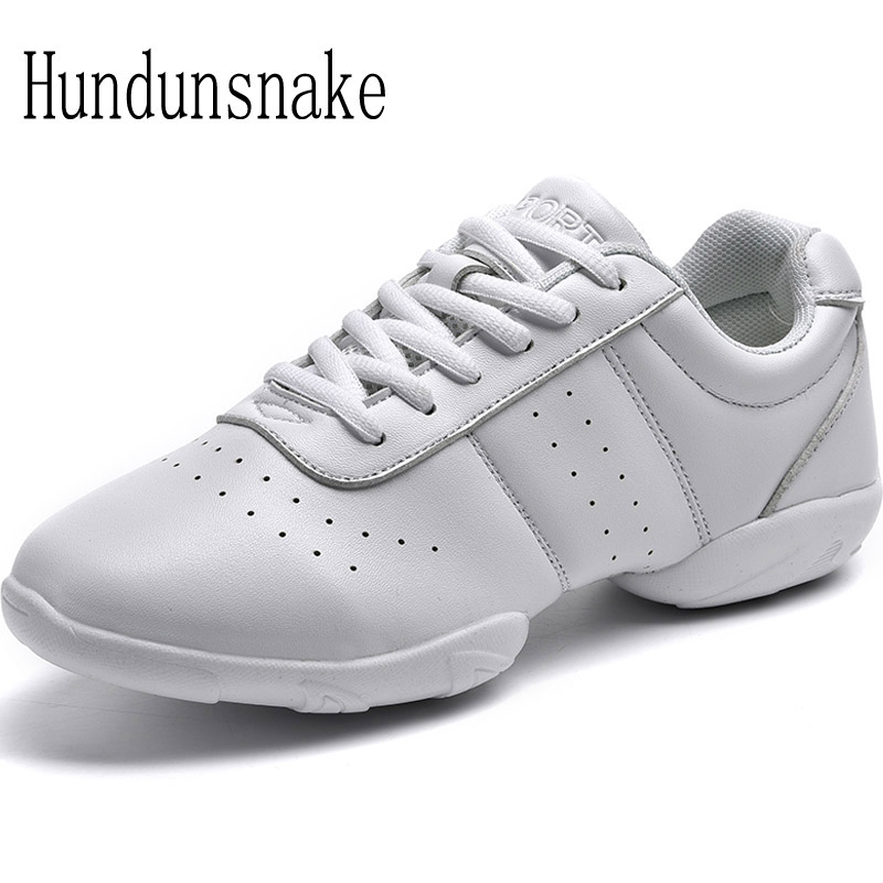 Hundunsnake White Jazz Dance Shoes Platform Women Sneakers Ladies Sport Krasovki Female Gym Gumshoe Trainer Chaussure Femme T157 ресницы перья white dance