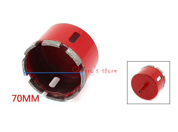 Professional Marble Sintered Diamond Drill Hole Saw Ceramic Reamer Hole Diamond Material 70MM
