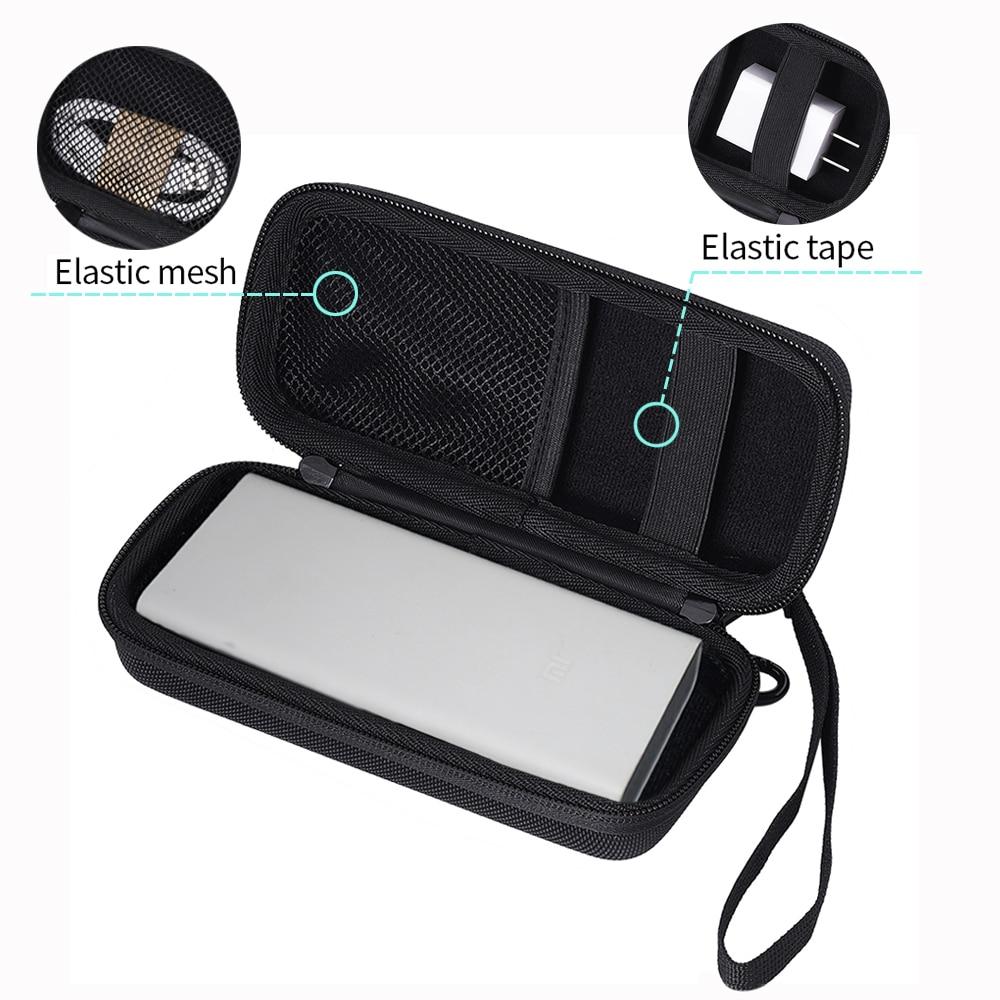 2019 Newest EVA Hard Cover Case for Xiaomi Mi Power Bank 20000 20000mAh 2C Cover Portable External Battery Phone PowerBank Bag