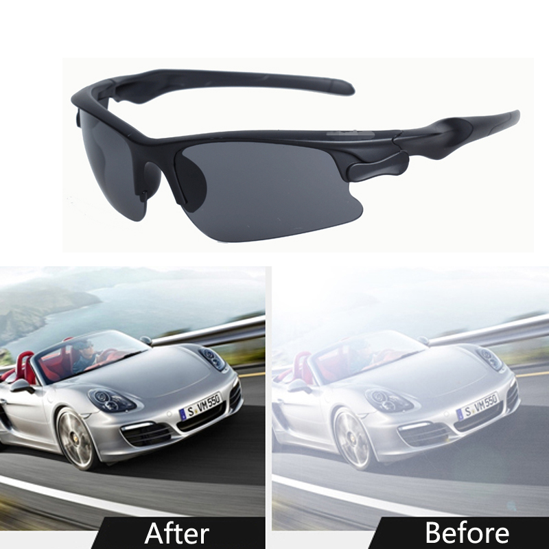 Dust-Proof Polarizer Car Drivers Night Vision Goggles Sunglasses For <font><b>Peugeot</b></font> 307 308 407 207 3008 406 208 508 301 2008 408 <font><b>5008</b></font> image