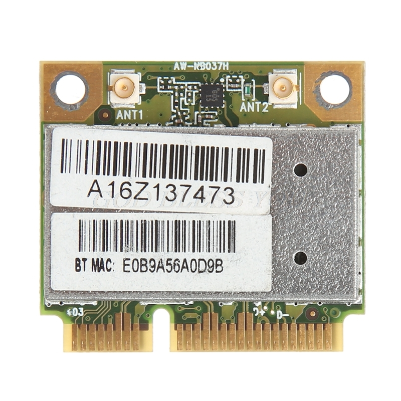 For Azurewave AW-NB037H 802.11nbg + Bluetooth 3.0 Wireless Mini PCI-E Wifi Card
