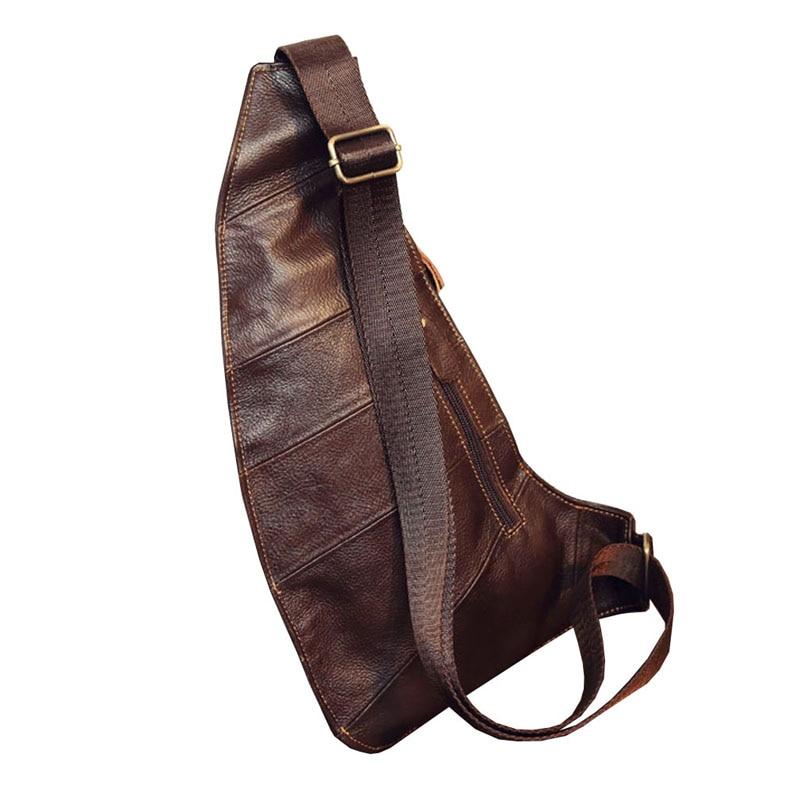 Ανδρική δερμάτινη τσάντα τσάντα με - Τσάντες - Φωτογραφία 2