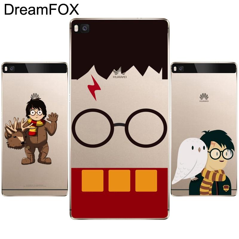 DREAMFOX L290 Harry Porter Soft TPU Silicone Case Cover For Huawei P8 P9 P10 Lite Plus 2017 Honor 8 Lite Pro 9 6X