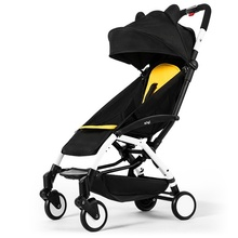 лучшая цена Free shippingLightweight Baby Stroller Can Sit Reclining Light Portable Folding Travel Airplane Umbrella Baby Stroller Newborn Baby Carriage