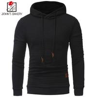 2017 New Fashion Hoodies Brand Men Lattice Sweatshirt Male Men S Sportswear Hoody Hip Hop Shrink