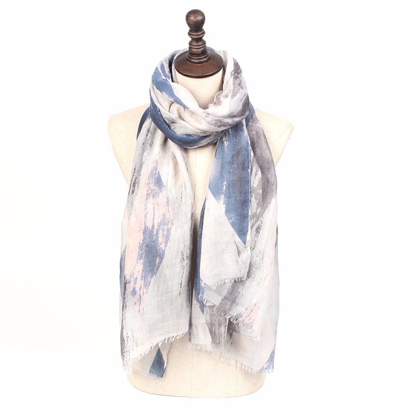 Light Pastel Spring Scarves | Shawls & Wraps