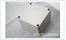 Новые Пластиковые Электронные Проект Box 83x81x56 MM Серый DIY Корпус Приборный Корпус Электротехническое оборудование