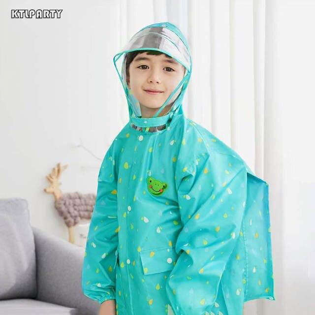 8f174068a Online Shop KTLPARTY Children s environmental cartoon raincoat with ...