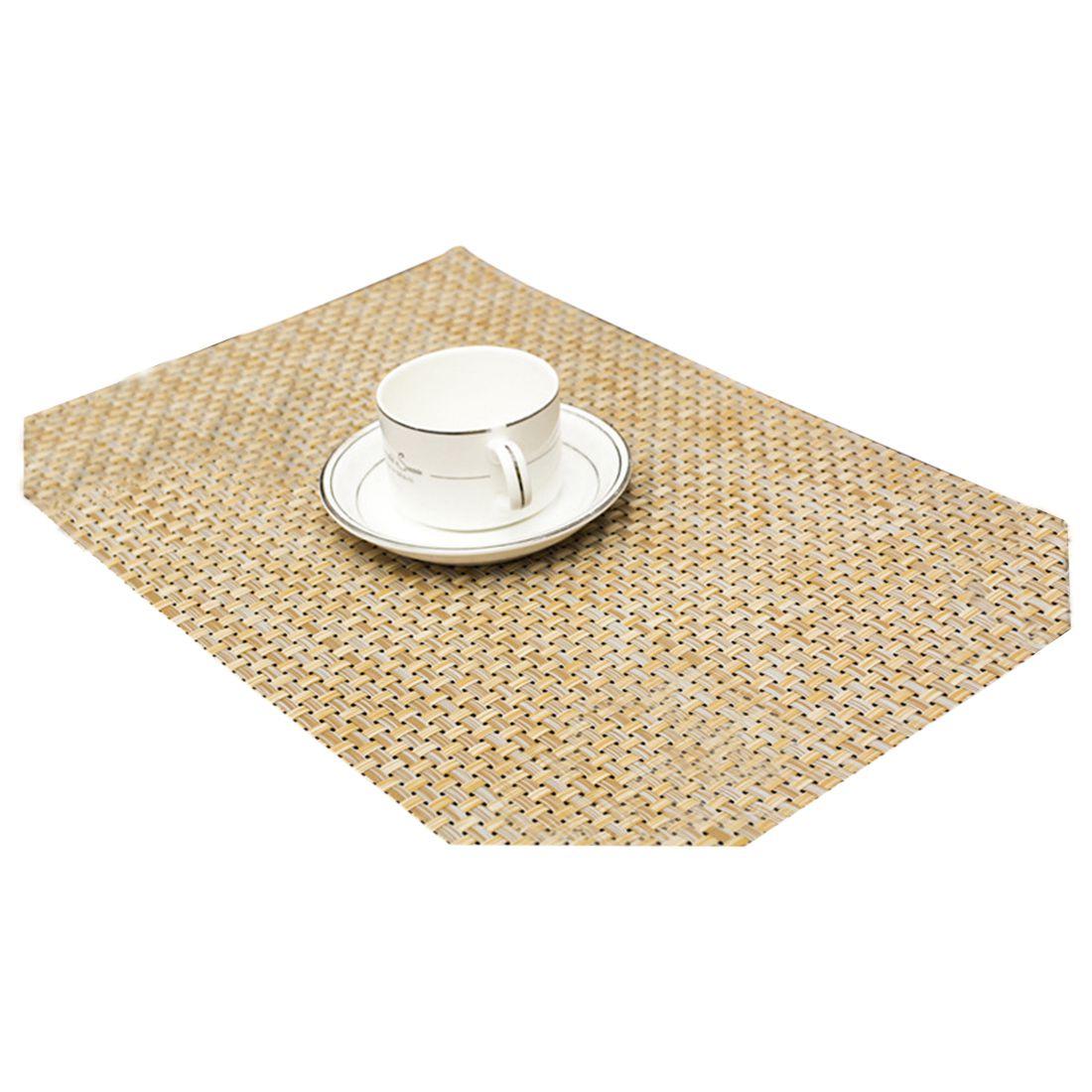 Высококачественный Отели изоляции чаша место коврики обеденный Pad Западной Коврики на стол