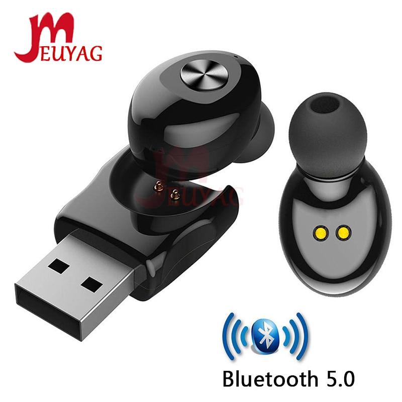 MEUYAG TWS 5.0 Bluetooth Wireless Earphone XG12 Stereo Earbus Earphones With Mic Handsfree USB Sport Headset For IPhone Samsung