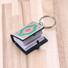 Mini Ark Quran Book Real Paper Can Read Arabic The Koran Keychain Muslim Jewelry