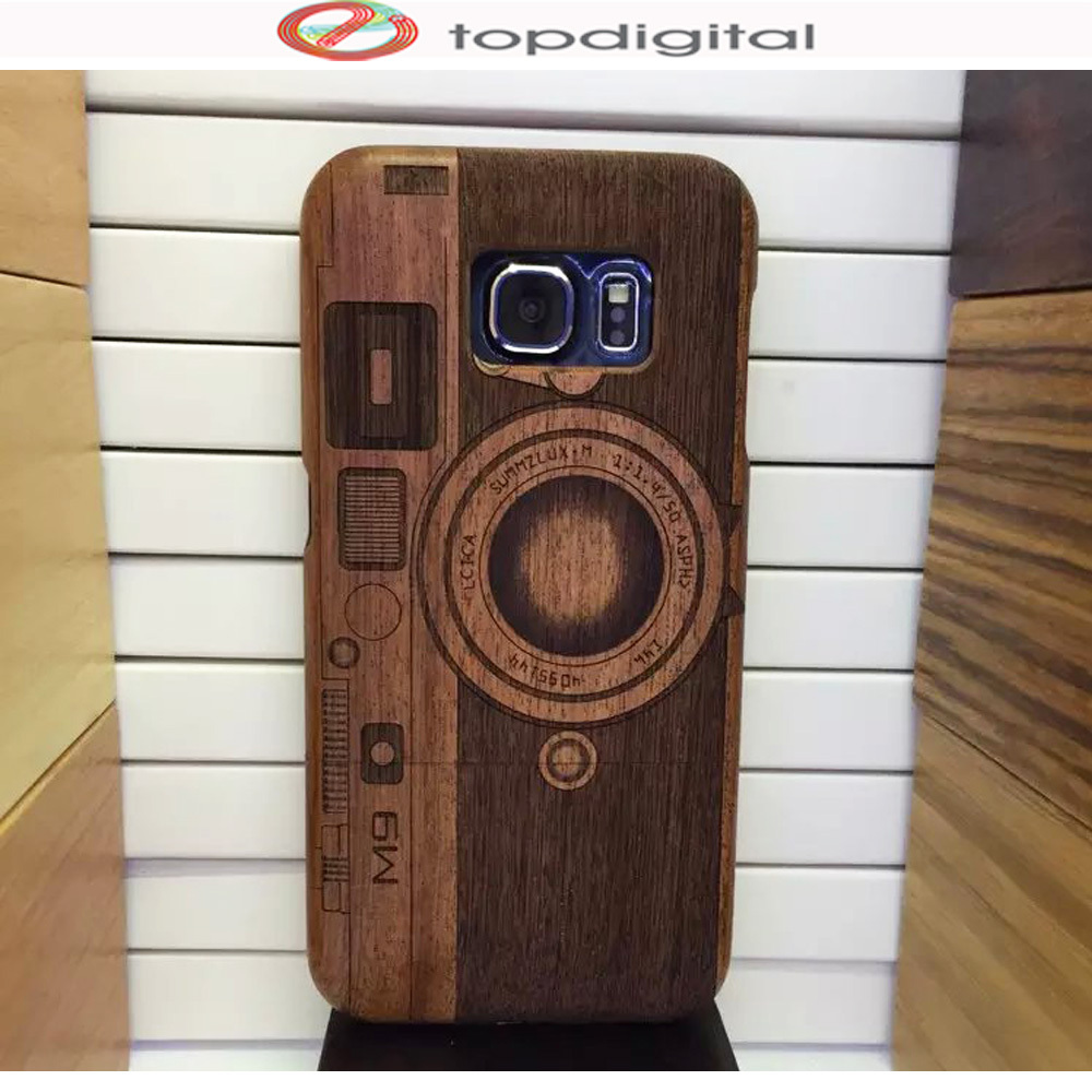 wholesale dealer 2a004 a0643 US $14.06 |Felidio Natural Wooden Case for Samsung Galaxy S6 edge Wood Case  Cover for Samsung S6 Cell Phone Case Handmade Carving Hardcase-in Fitted ...