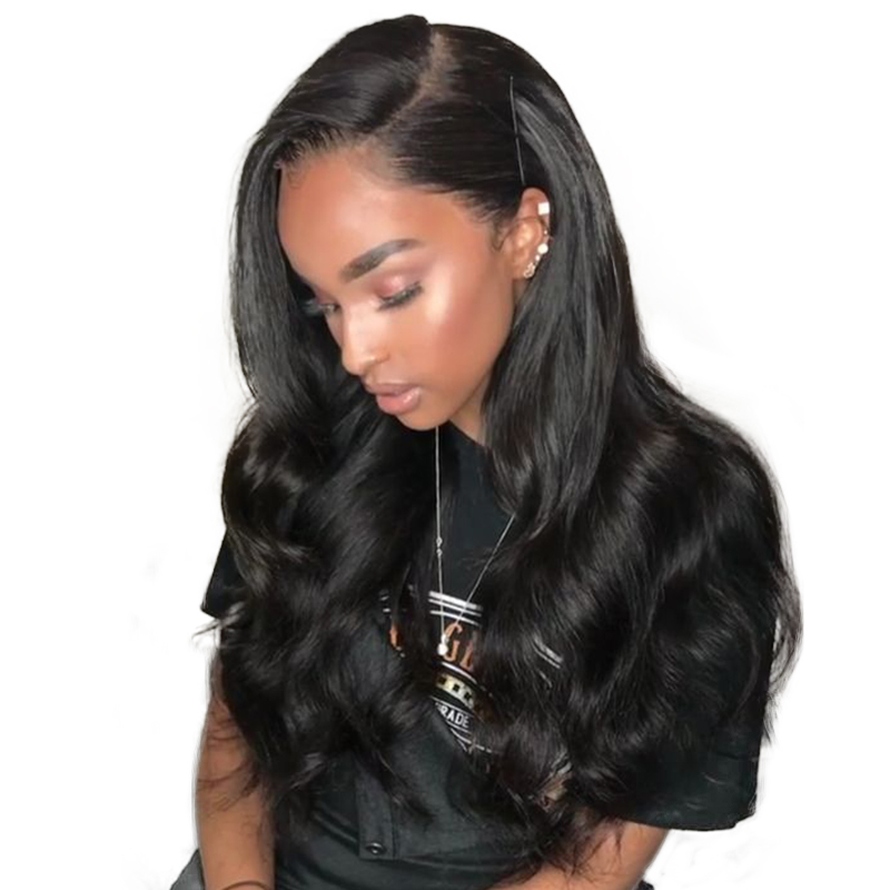 360 Lace Frontal Wigs Pre Plucked Body Wave 180% Density Honey Queen Brazilian Remy Hair Bleached Knot Baby Hair Lace Front Wigs