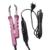 Profissional da extensão do cabelo loof ajustável fusão ferramenta de fusão de ferro calor conector wand ferro l-618 controle kit de ferramentas completo