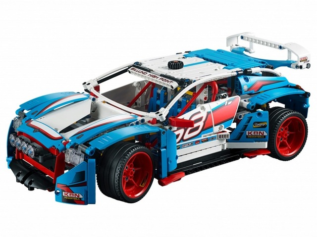 20077 Technic Series The Rally Car Set 2 In 1 Building Block Set Bricks Toys 1085Pcs Compatible 42077 KIds Gifts lepin 20077 genuine technic series the rally car set 42077 building blocks bricks educational funny toys as children gifts