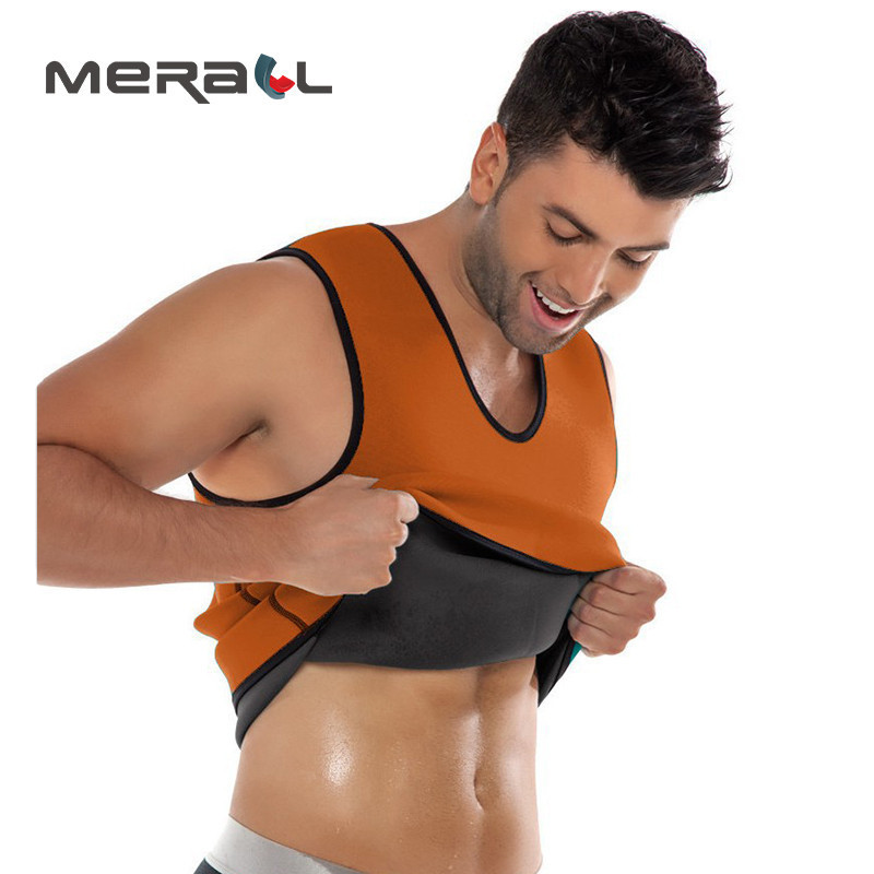 Fashion Solid Sleeveless Casual Shapewear Men Fat Burning Vest Anticellulite Body Weight Loss Belly Slimming Wrap Corset Product